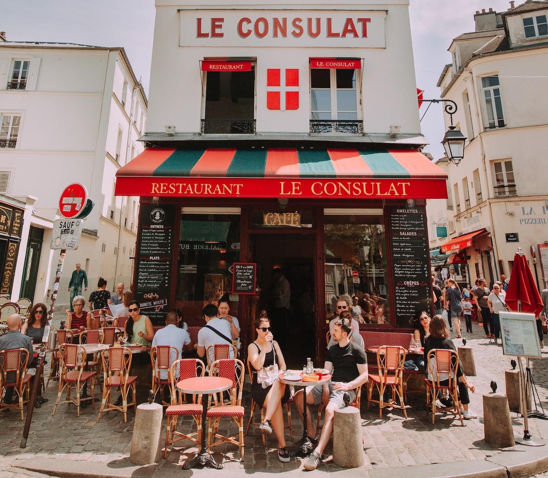Uliczne jedzenie w Paryżu