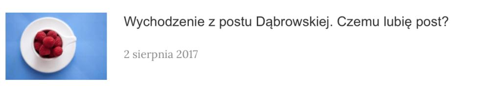 Wychodzenie z postu dr Ewy Dąbrowskiej i czemu przeprowadziłam dwutygodniowy post?