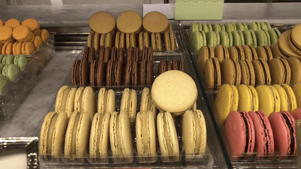 makaroniki w Paryżu