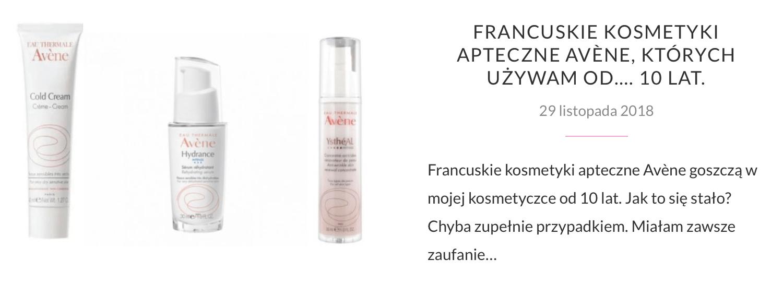 Francuskie kosmetyki ekologiczne