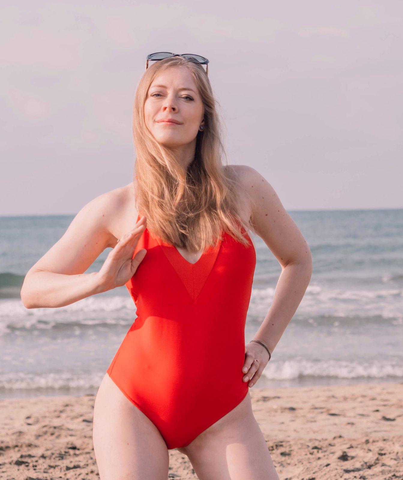 Ile musiałam schudnąć, żeby dobrze wyglądać w kostiumie kąpielowym?