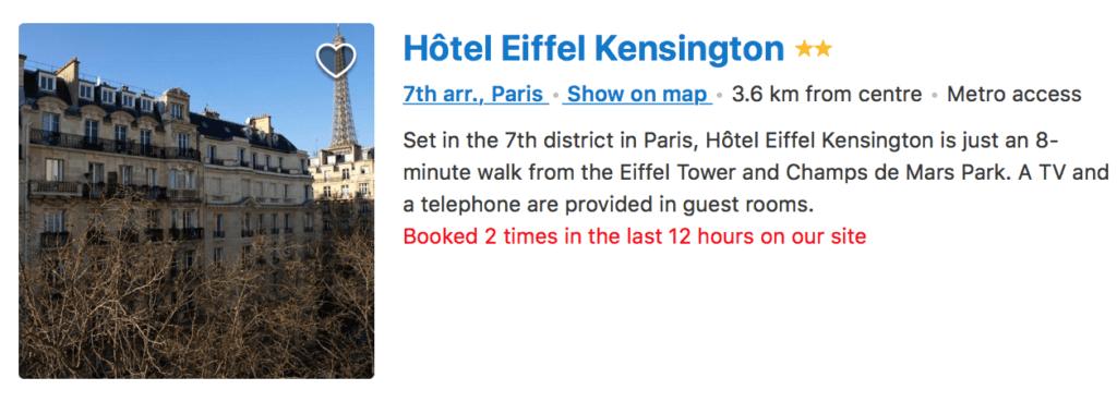 HOTEL W PARYZU Z WIDOKIEM NA WIEZE EIFFLA-1.34